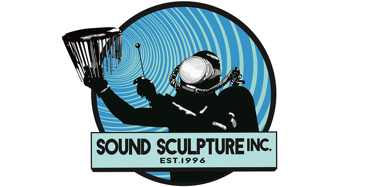 Sound Sculpture Inc Scuba Diver Logo